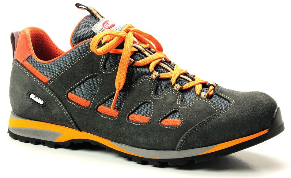 OLANG MARACANA.BRETEX 816 antracite, pánská treková obuv 159e10d282