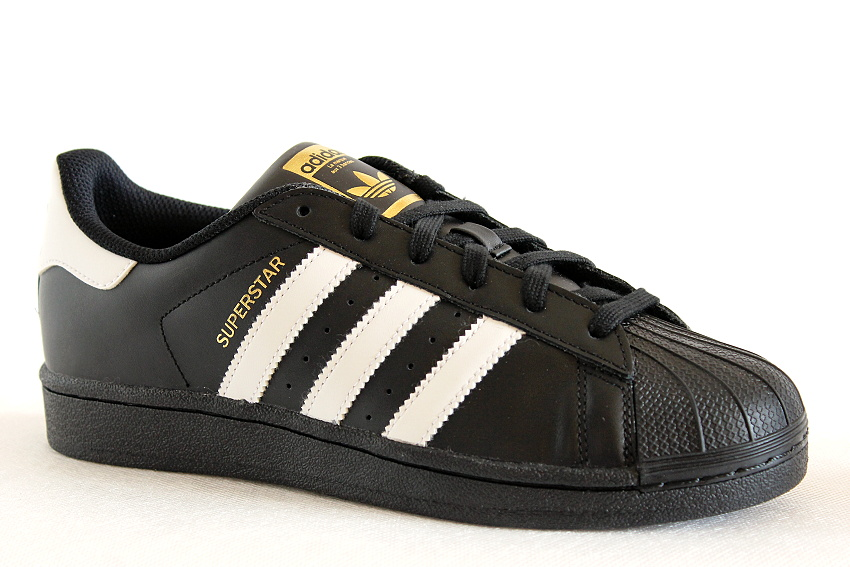 adidas SUPERSTAR FOUNDATION J  B23642 black, juniorská obuv