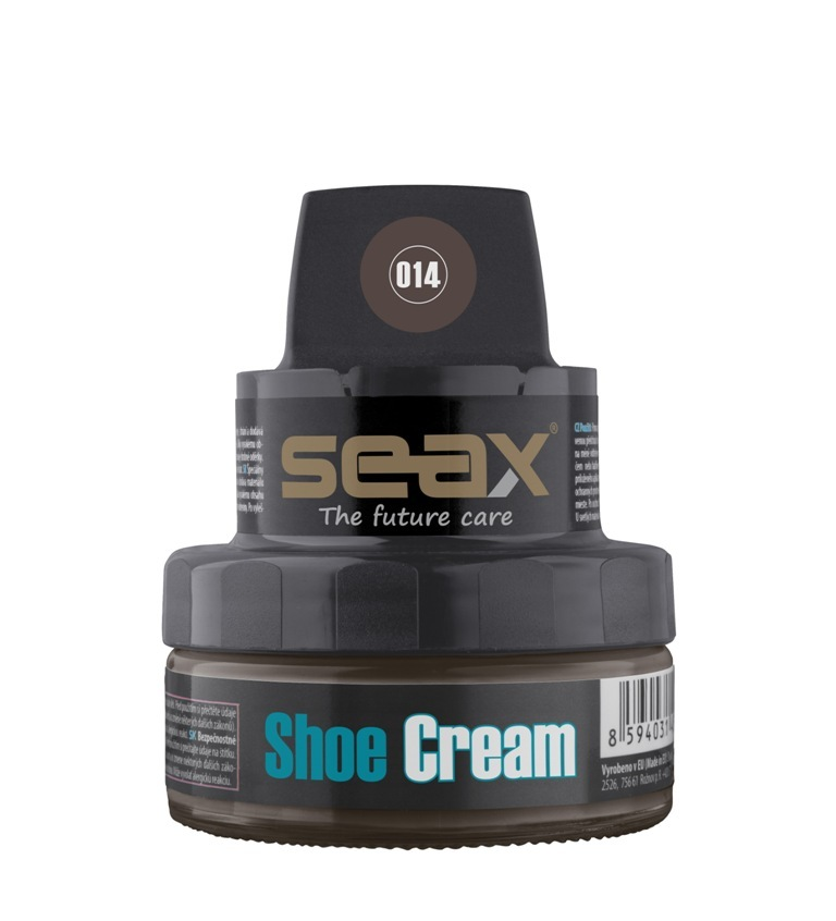 SEAX Shoe Cream, krém na obuv hnědý (old brown) 50ml
