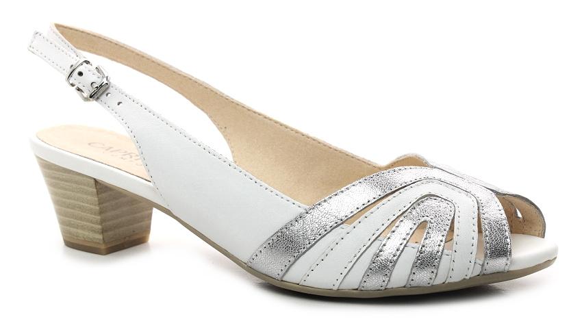 CAPRICE 9-28206-22 white silver 3ba22def99