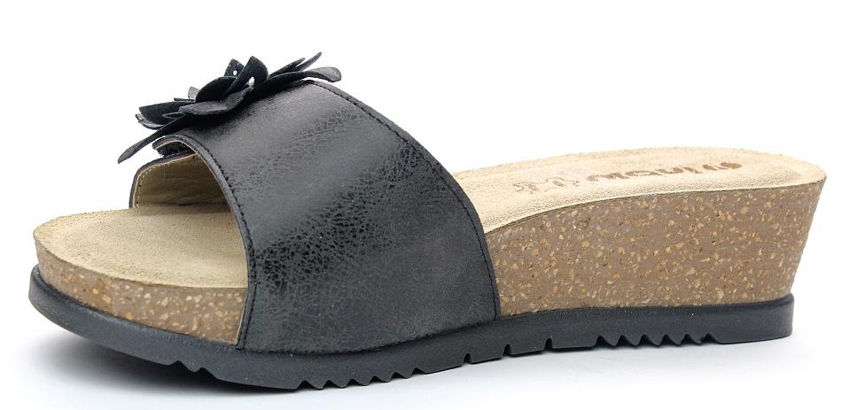INBLU UC000021 anthracite, dámské pantofle 32feb50171