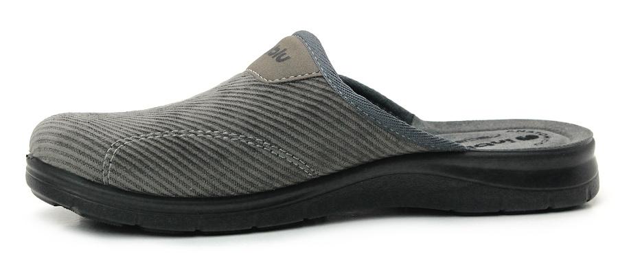 3868ccd7f INBLU BG000026 grey, pánská domácí obuv