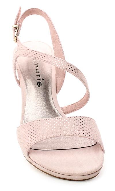 2f22d73abb2e8 TAMARIS 1-28318-22 rose dots, dámská společenská obuv