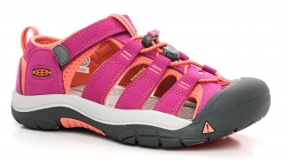 KEEN NEWPORT H2 1014267 very berry/fusion coral, juniorské sandály